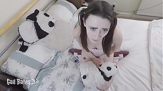 Preview: Make believe Dad catches Make believe Daughter masturbating with an increment of fucks will not hear of while Mum is outside