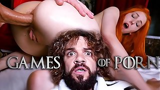 Meet Elin Flame as A Lady Sansa assfucked by her mad midget husband Tyrion Fuckister in all directions #GameOfPorn hardcore making love mock-heroic from Jean-Marie Corda
