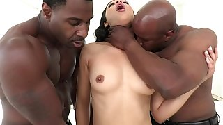 AllBlackX - Cunning DP For Ebony Diamond Banks