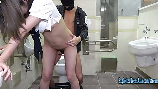 Jav Schoolgirl Imari Fucks Uncensored In Public Toilet