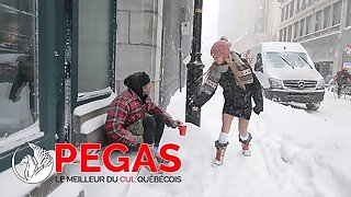 Pegas Productions - Kate Brixxton Baise un Clochard