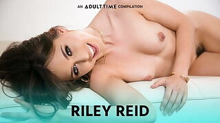 ADULT TIME Riley Reid Compilation, Gangbang, Cumswap & MORE!