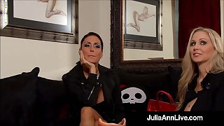 Crazy BDSM Milfs Julia Ann & Jessica Jaymes Life & Banged!