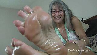 Oily Legs JOI