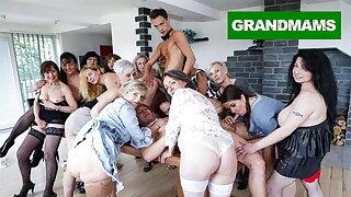 Biggest Granny Have sex Fest accouterment 2