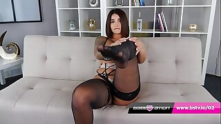 UK Indian Priya Young with chubby ass strips missing at Babestation