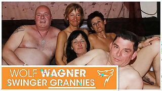 Ugly full-grown swingers have a fuck fest! Wolfwagner.com