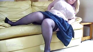 Vintage footage of big tits Mature Sally