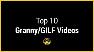 xHamster Premium Top 10 Granny-GILF Compilation