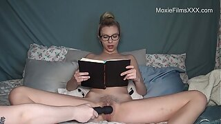 Reading A Book To the fullest Cumming