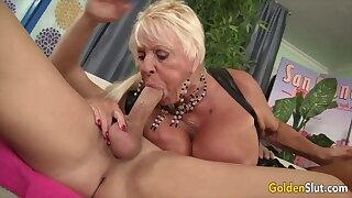 Golden Slut - Older Lady Blowjob Compilation Fidelity 21