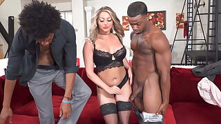 Cuckold To Latex Watches As Kayley Gunner Goes To Heaven