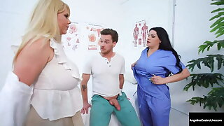 Moist Medical Muffs – Angelina Castro & Karen Fisher Cure Load of shit