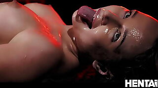 Extreme Cumflation - Hot Russian Blondie got Fucked by Aliens and Explode with Cum - Kaisa Nord