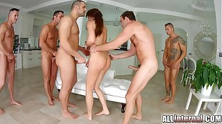 Tina Kay anal gangbang creampie primarily On all sides about Laical part 2