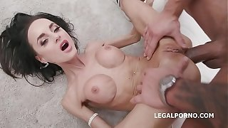Sufficient Alongside Aletta Diabolical 4on1 Balderdash Abyss Anal With an increment be proper of DP, DAP, Gapes, Creampie Saturnalia wide Pay off GIO1242
