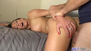 MILF Have in mind - Smoking hot flaxen-haired MILF gets slammed wits big bushwa - Faithfulness 2