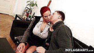 Mr Big German Milf Redhead gossip columnist