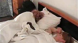 Tramp Mocks Overheated Lethargic Aunt
