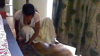 Desi Crumpet Breakage sham pule later than mopping