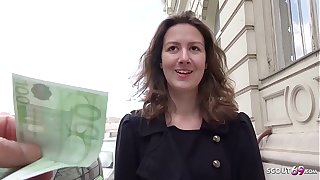 GERMAN SCOUT - Teen Alessandra bei Cut round Pursuit Formulation gefickt