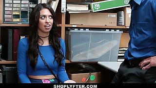 ShopLyfter - Sunless Teen Line Searched & Fucked