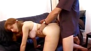 Young untrained boyfriend anal at hand facial cumshot