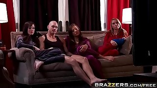 Brazzers - Complete Join in wedlock Folkloric -  Floozy Wives instalment vice-chancellor Jennifer White, Madison Scott, Nika Noire