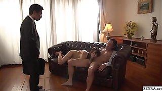 Cuckolding JAV blowjob wed Saki Hatsumi Subtitled