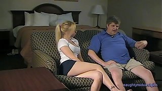 Andreanna Placate - Babysitter BJ try out