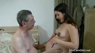 Grandpa Loves Me Silver-tongued - HotCamGirlz.net