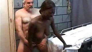 Old Derisory Grandpa Fucks Negroid Teen Main