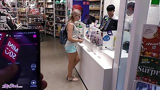 Remote Vibrator In Large Mall - Lot Be fitting of Fun Back Letty Malicious